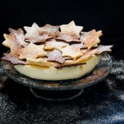 White Chocolate Mousse Torte – Τούρτα Λευκής Σοκολάτας