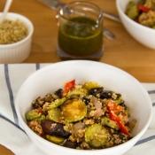 Grilled Veggie Salad with Quinoa – Σαλάτα με Ψητά Λαχανικά και Κινόα