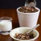 Granola με καρύδα, σοκολάτα και καφέ