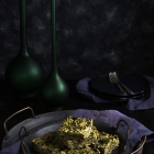Κινόα με σπανάκι και κατίκι Δομοκού