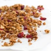 Apple & Flax Spiced Granola – Μυρωδάτη Granola με Μήλο & Λιναρόσπορο