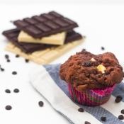 Triple Chocolate Muffins – Μάφινς με 3 Σοκολάτες