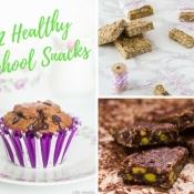 12+5 Healthy School Snacks - 12+5 Υγιεινά Σνακ για το Σχολείο (Updated)