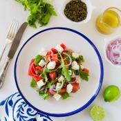 Σαλάτα με Καρπούζι και Φέτα – Watermelon & Feta Salad