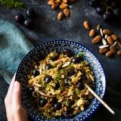 Σαλάτα με Κινόα και Σταφύλια – Quinoa Salad with Grapes