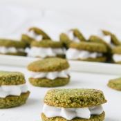 Μπισκότα Καρύδας με Matcha – Matcha Coconut Cookies