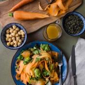 Σαλάτα με Καρότα και Ρεβίθια – Carrot and Chickpea Salad
