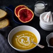Κολοκυθόσουπα με Γκρέιπφρουτ - Pumpkin Soup with Grapefruit