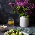Σαλάτα με Ψητά Κολοκυθάκια και Μανιτάρια