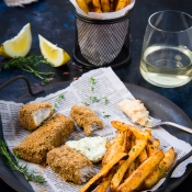 Υγιεινά Fish & Chips – Baked Fish & Chips