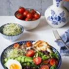 Σαλάτα με Ταλαγάνι, Αυγό και Αβοκάντο