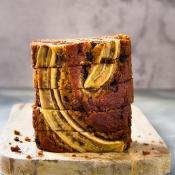 Κέικ Μπανάνας με σοκολάτα – Vegan Banana Bread