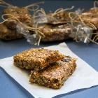Quinoa & Ginger Granola Bars