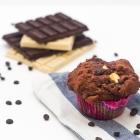 Μάφινς με 3 Σοκολάτες