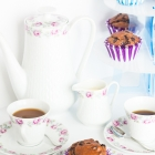 Μάφινς Σοκολάτας  χωρίς Ζάχαρη