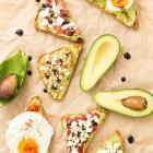 6 Υγιεινά Σνακ με Αβοκάντο