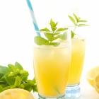 Λεμονάδα με Σιρόπι Μέντας