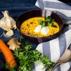 Καροτόσουπα με Κουρκουμά και Τζίντζερ