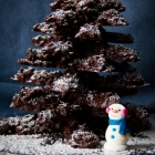 Χριστουγεννιάτικο Σοκολατένιο Δεντράκι