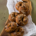 Easy Whole Wheat Bagels