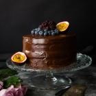 Healthy Chocolate Birthday Cake