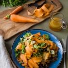 Σαλάτα με Καρότα και Ρεβίθια