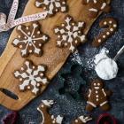 Vegan Χριστουγεννιάτικα Μπισκότα