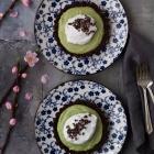 Matcha Chocolate Tarts (VΕG, GF, LF)