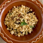 Quinoa salad with Feta and Sun-dried Tomatoes