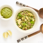 Totally Green Salad with Quinoa