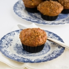 Carrot Oatmeal Muffins in 2 versions