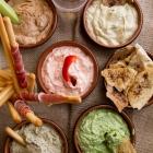 5 Healthy Yogurt Dips
