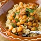 Moroccan Chickpeas with Quinoa