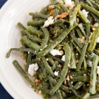 String Beans Salad with Walnuts and Goat Cheese