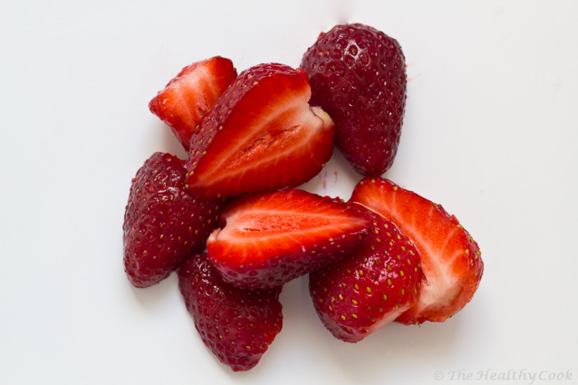 Μαρμελάδα φράουλα με λίγες θερμίδες χωρίς βράσιμο, έτοιμη σε 5 λεπτά - Low calorie strawberry jam, ready in 5 minutes!