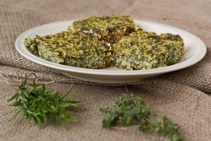 Quinoa with Spinach and Katiki cheese – Κινόα με σπανάκι και κατίκι Δομοκού