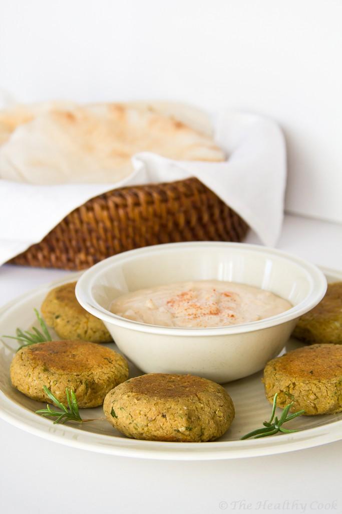 Healthy Homemade Falafel – Υγιεινό Σπιτικό Φαλάφελ