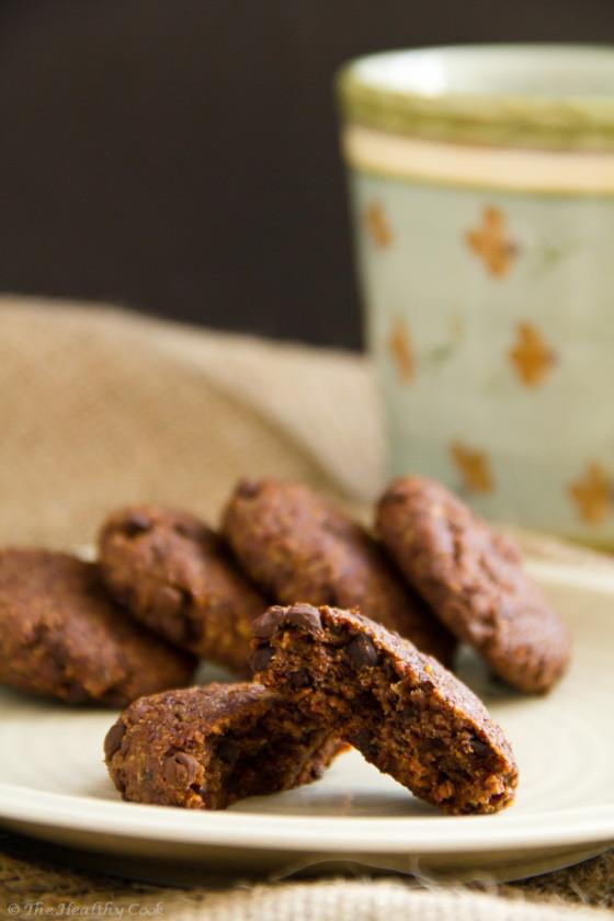 Super Healthy Chocolate Chip Cookies – Τα Πιο Υγιεινά Σοκολατένια Μπισκότα