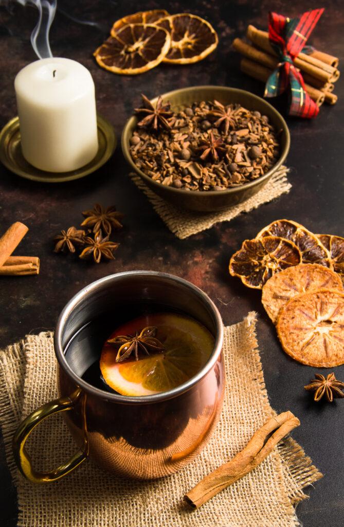 Mulling Spices & Mulled Wine - Μείγμα Μπαχαρικών για Ζεστό Αρωματικό Κρασί