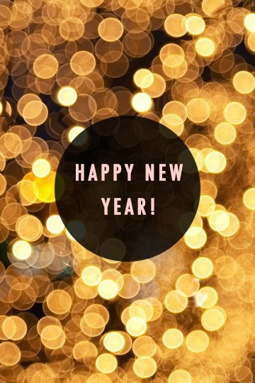 Wishes for A Very Happy New Year!! - Ευχές για μια Υπέροχη Χρονιά!!