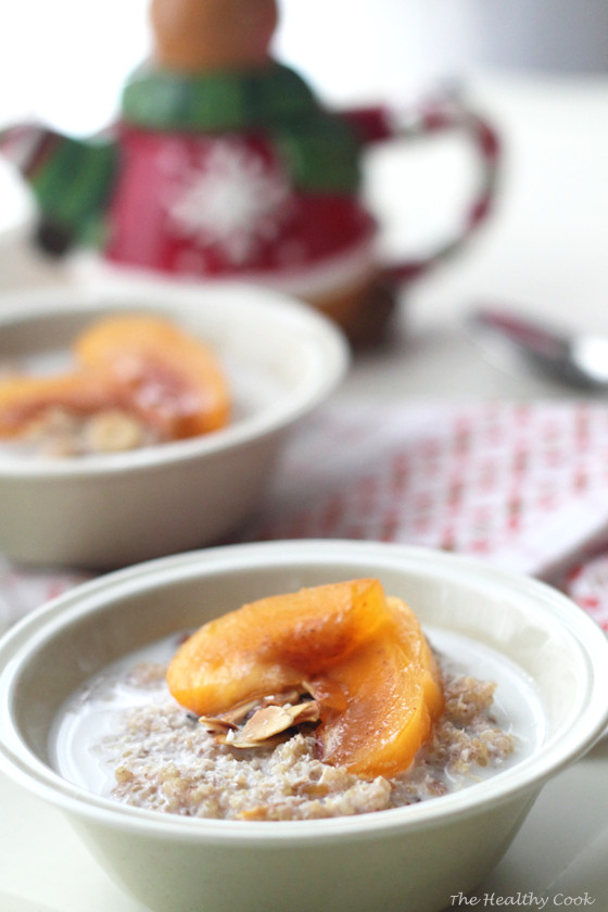 Persimmon Quinoa Breakfast – Πρωινό με Λωτό και Κινόα