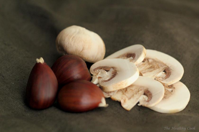 Chestnut, Mushroom and Horseradish Soup – Σούπα με Κάστανα, Μανιτάρια και Horseradish