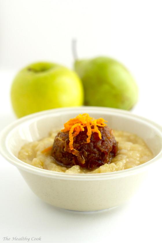 Pear & Apple Compote with Dates – Κομπόστα Μήλου & Αχλαδιού με Χουρμάδες