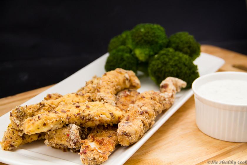 "Oven ""Fried"" Chicken - Κοτόπουλο Τηγανιτό… στο Φούρνο"