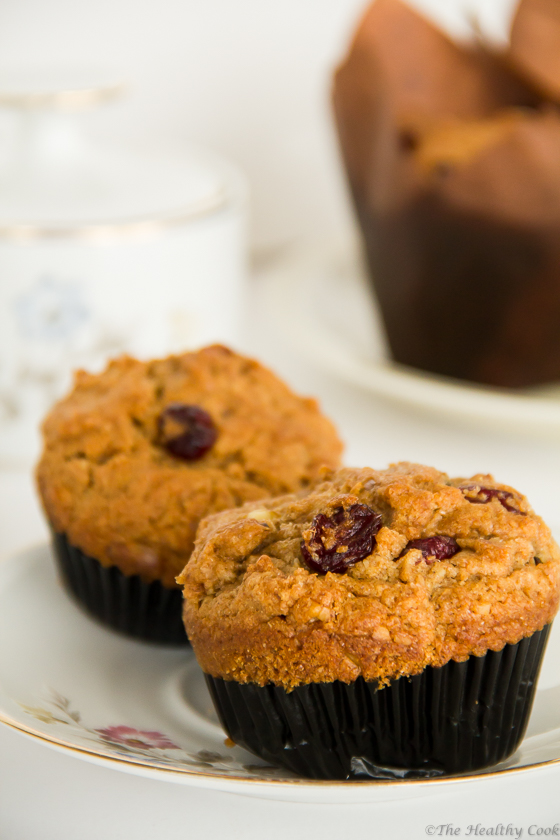 Dried Fruit Muffins (St. Fanourios Cake) – Μάφινς με Ξερά Φρούτα (Φανουροπιτάκια)