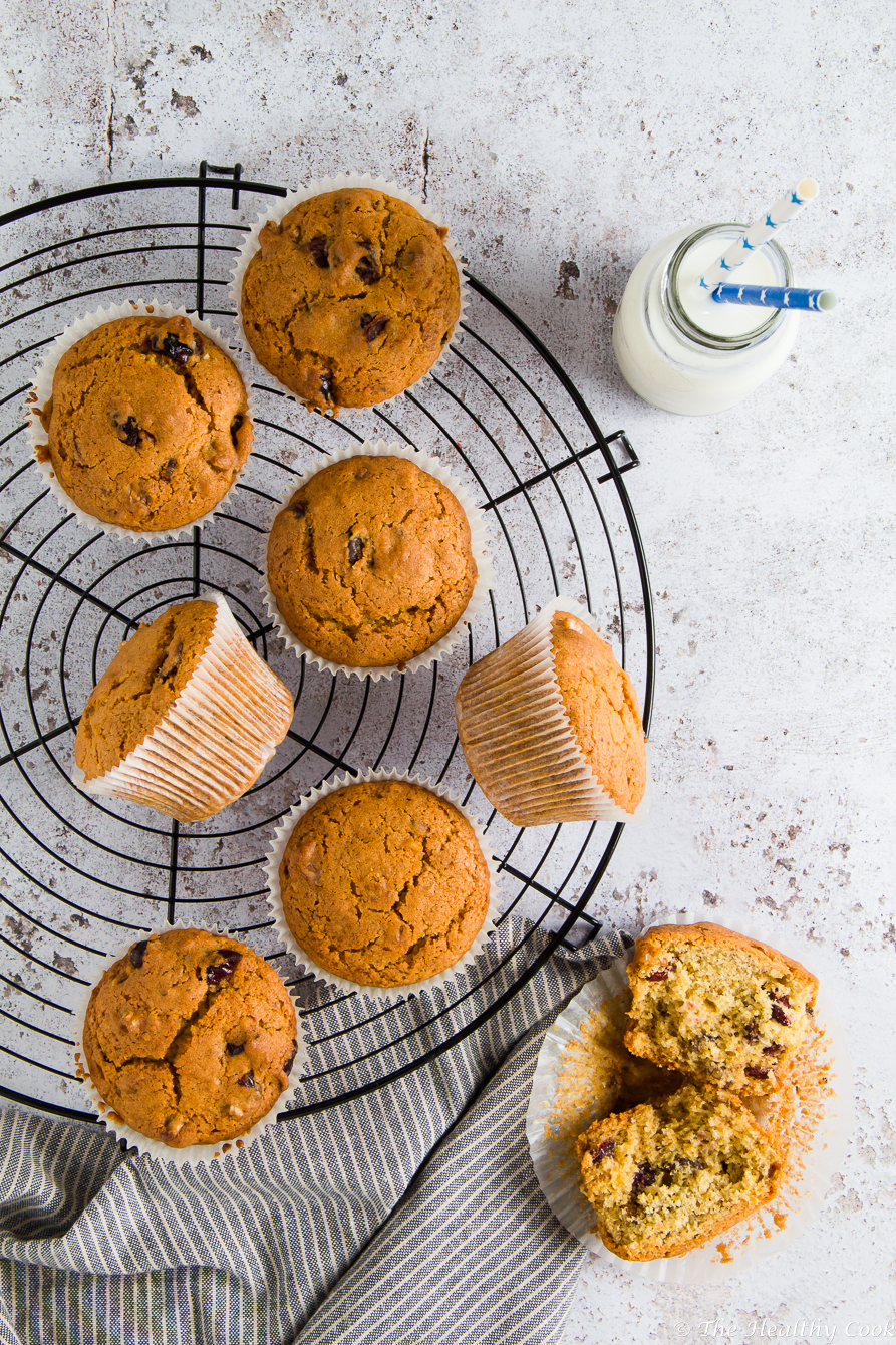 Dried Fruit Muffins