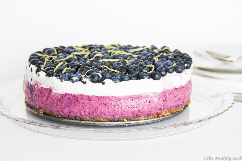 Blueberry Cheesecake – Τσιζκέικ με Μύρτιλλα