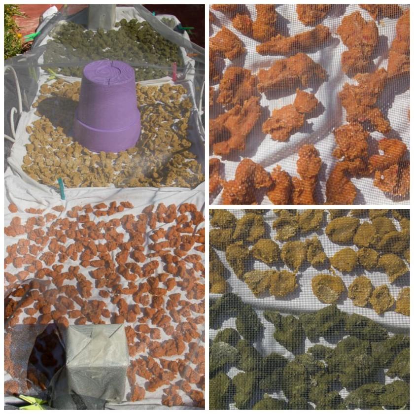 Tricolored Veggie Trachanas – Σπιτικός Τρίχρωμος Τραχανάς Λαχανικών