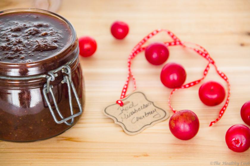 Red-Mirabelles-Chutney – Τσάτνεϊ-από-Κόκκινα-Κορόμηλα