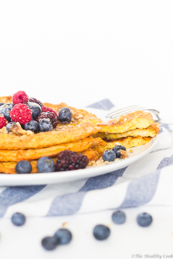 Protein-Pancake-with-Turmeric – Πρωτεϊνική-Τηγανίτα-με-Κουρκουμά